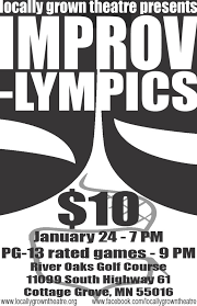 Cottage Grove Theater by Improv Lympics