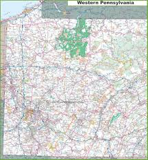 Map Of Pennsylvania And New Jersey by Pennsylvania State Maps Usa Maps Of Pennsylvania Pa