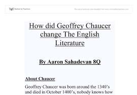 the canterbury tales essay jpg