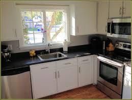 Rustoleum Kitchen Cabinet Paint Techniques In Creating Refinished Kitchen Cabinets Before And
