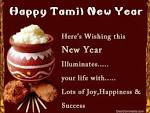 Happy Tamil New year Greetings wishes pictures images -