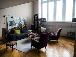 places in moscow carre russe showroom and french apartments