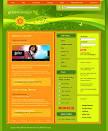 web blog template...