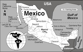 Map Of Juarez Mexico by Fishing Geo Mexico The Geography Of Mexico