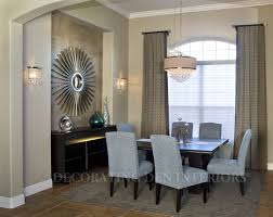Decorating Ideas Dining Room How To Decorate A Recessed Wall Niche In Your Dining Room