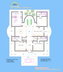 villa elevation and floor plan 4900 sq ft kerala home design