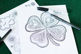 coloring pages for st patrick u0027s day you should craft