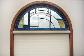 Transom Window Above Door Custom Stained Glass Windows Painted Light Stained Glass