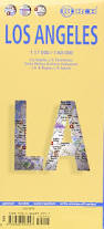 Grand Park Los Angeles Map by Laminated Los Angeles Map By Borch English Edition Borch