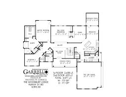 woodbury lodge house plan craftsman house plans