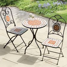 Cast Iron Patio Set Table Chairs Garden Furniture - outdoor folding metal round table and chairs garden patio