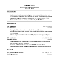 Resume For Nanny Job by Resume Nanny Skills Free Resume Example And Writing Download