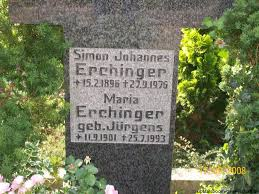 Grab von Simon Johannes Erchinger (15.02.1896-27.09.1976 ... - lb013