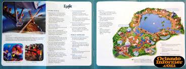 Printable Map Of Disney World 2011 Walt Disney World Vacation Brochure Let The Memories Begin