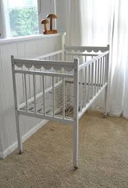 Vintage White Baby Crib by Best 25 Vintage Baby Cribs Ideas On Pinterest Vintage Crib