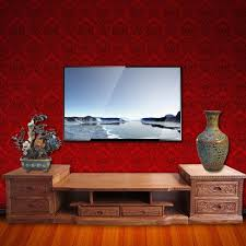 Living Room Tv Cabinet Red Sandalwood Living Room Tv Cabinet Combination Audiovisual