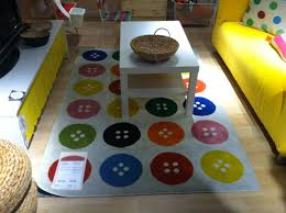 Multicolor Rug Kids Circular Rugs Comfortable Home Design