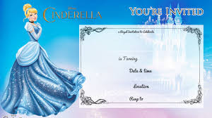 Printable Invitation Card Stock Free Printable Cinderella Birthday Invitation U2013 Bagvania Free