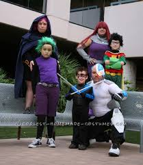 coolest homemade teen titans costumes