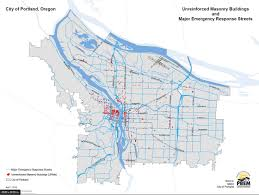 Zip Code Map Portland Or by Osu Working On Earthquake Risk Assessment Tool Kgw Com