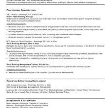 Banker Resume Example by Personal Banker Resumes Examples Banker Resume Examples Best