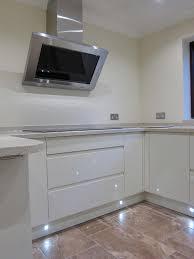 Handleless Kitchen Cabinets Rimini Handleless Cream Led Plinth Lights Pebble Kitchens