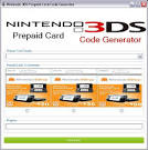 3ds Prepaid Card Code Generator No Survey 2013 Mediafire