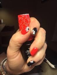 zeta at charles penzone columbus ohio gel nails tribal nail art