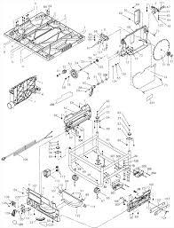 Bosch Table Saw Parts by Dewalt Dw745 Parts List And Diagram U2013 Type 1 Ereplacementparts