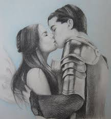 Painting of Romeo and Juliet by someone named Grumm