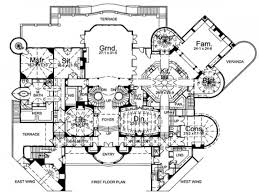 East Wing Floor Plan by Castle Floor Plan Blueprints Home Plans Mexzhouse Luxury House