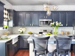 Spray Painting Kitchen Cabinets Pictures  Ideas From HGTV HGTV - Can you paint your kitchen cabinets