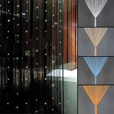 curtains home decor beaded string curtain door divider crystal beads tassel screen