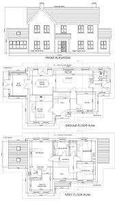 2 Floor House Plans With Photos by 2 Storey Residential House Plan House Design Plans