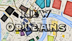 New Orleans Downtown Map by Map Of New Orleans Hoods Ghetto And More