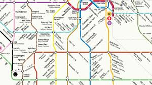Sf Metro Map by Could La U0027s Rail System Ever Look Like This Curbed La