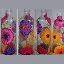 Botellas de vidrio reciclado