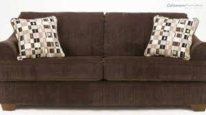 Chocolate Living Room Furniture by Crosby Chocolate Living Room Collection From Signature Design By