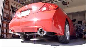 nissan altima coupe for sale by owner 2 5 altima coupe w stillen exhaust youtube