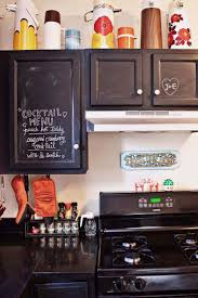 Painted Kitchen Ideas by Best 25 Chalkboard Paint Kitchen Ideas Only On Pinterest