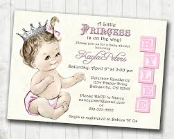 Baby Shower Invitation Cards Templates Most Popular Princess Baby Shower Invitations On This Year