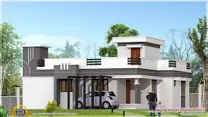 small contemporary home in 1200 sq feet indian house plans