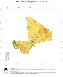 Map Of Mali Africa by Map Mali Ginkgomaps Continent Africa Region Mali