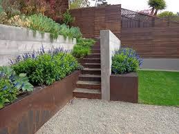 Top  Best Retaining Wall Gardens Ideas On Pinterest Garden - Landscape wall design