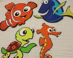 Finding Nemo Centerpieces by Wall Centerpiece Etsy