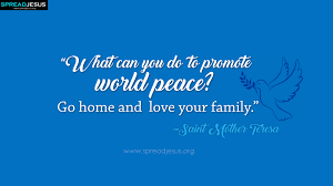 Mother Teresa Quotes On Love by Saint Mother Teresa Quotes Facebook Cover Promote World Peace