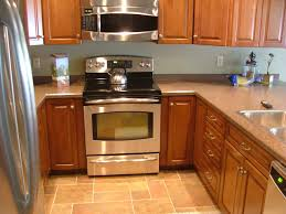 u shaped kitchen floor plans double trash can pull out system