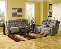 Livingroom Sets Rotation Smoke Reclining Living Room Set From Ashley 97501 88 94
