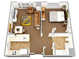 one bedroom apartment plans and designs best 25 studio apartment