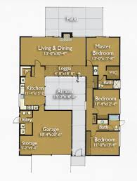Eichler Homes Floor Plans Ranch Style House Plan 3 Beds 2 00 Baths 1649 Sq Ft Plan 470 4